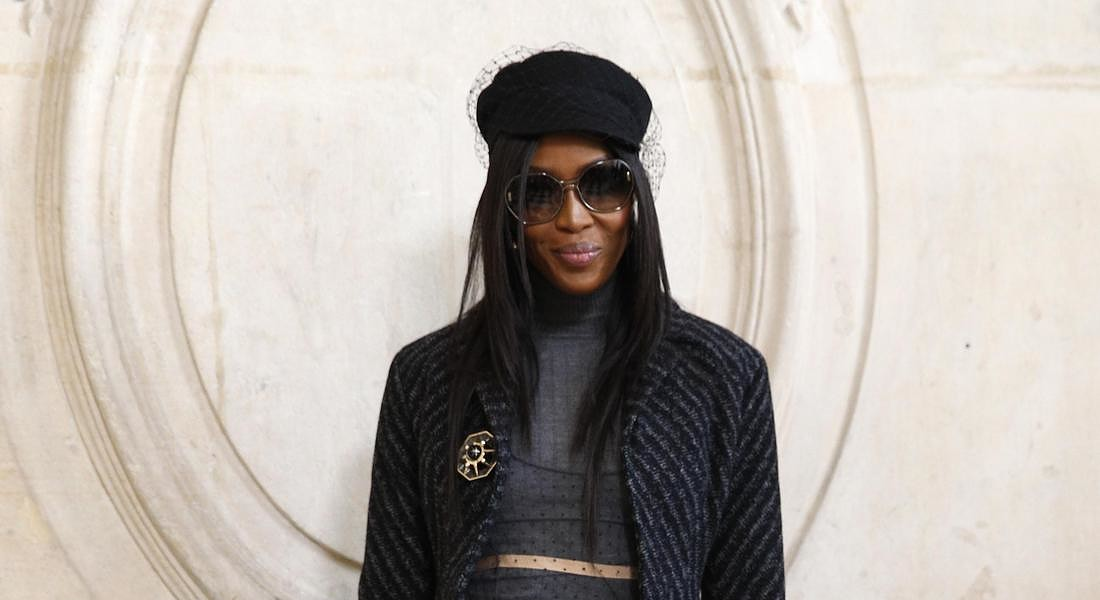Paris Fashion Dior Photocall Naomi Campbell © AP