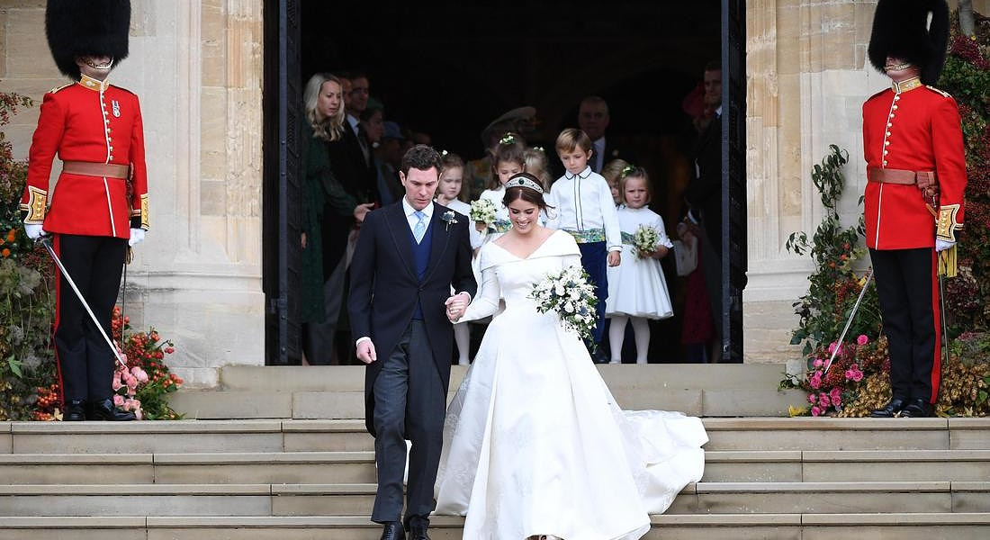 Royal Wedding of Princess Eugenie and Jack Brooksbank in Windsor © EPA