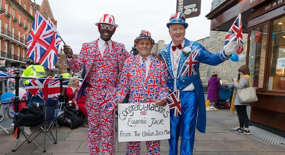 Royal Wedding: a Windsor si sono sposati la principessa Eugenie e  Jack Brooksbank © EPA