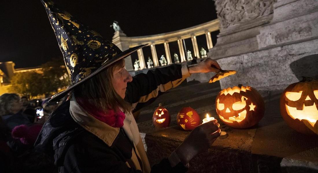 Halloween celebration in Budapest © EPA