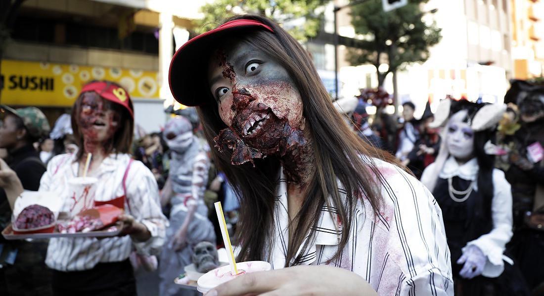 Halloween Parade in Kawasaki © EPA