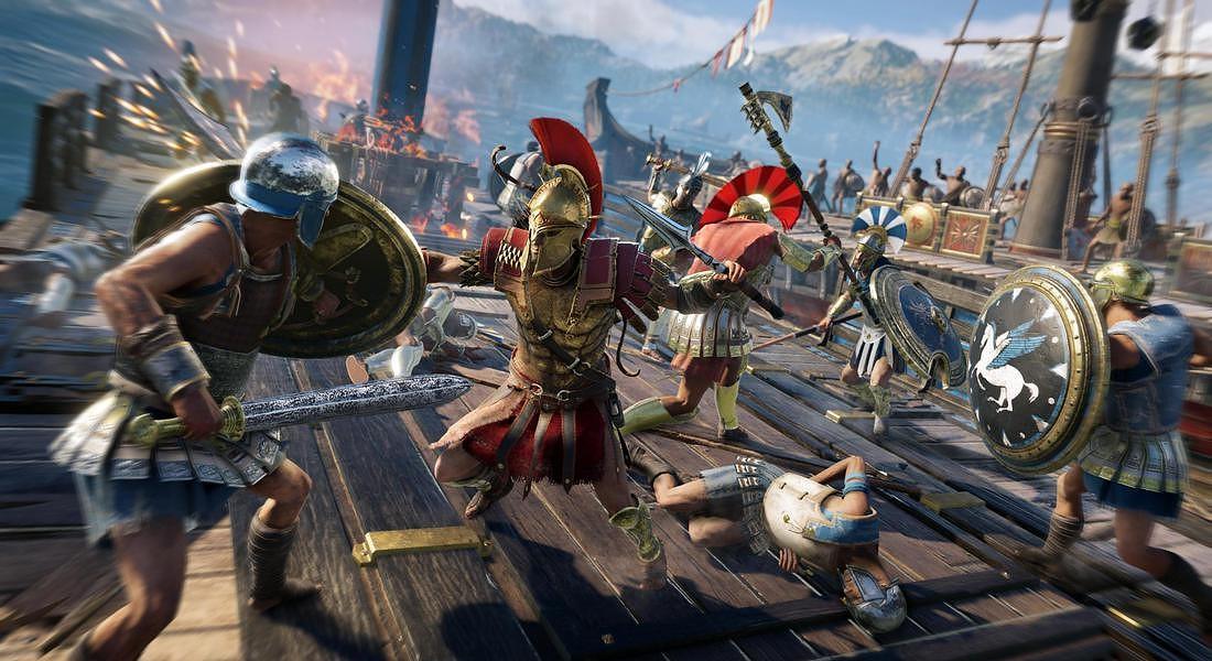 Assassin's Creed Odyssey © ANSA
