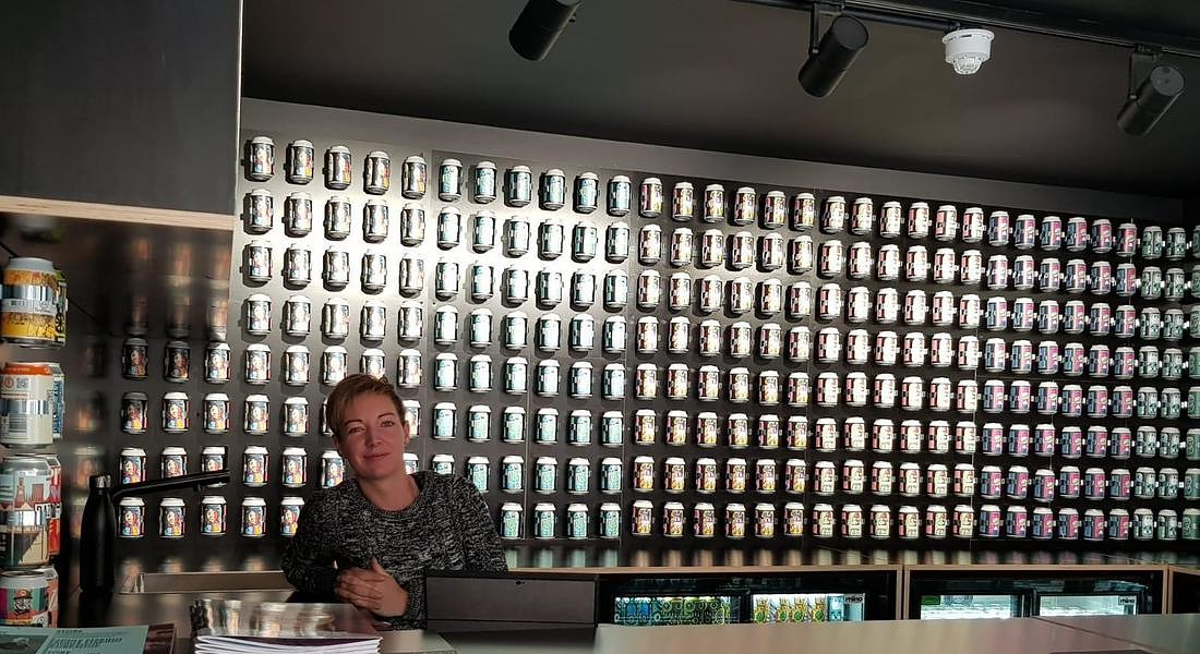 Londra Coal Drops Yard: the house of can, solo lattine © ANSA