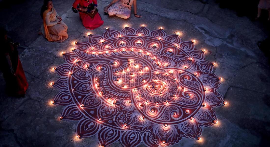 Diwali dura cinque giorni, ciascuno con un rituale da compiere © EPA