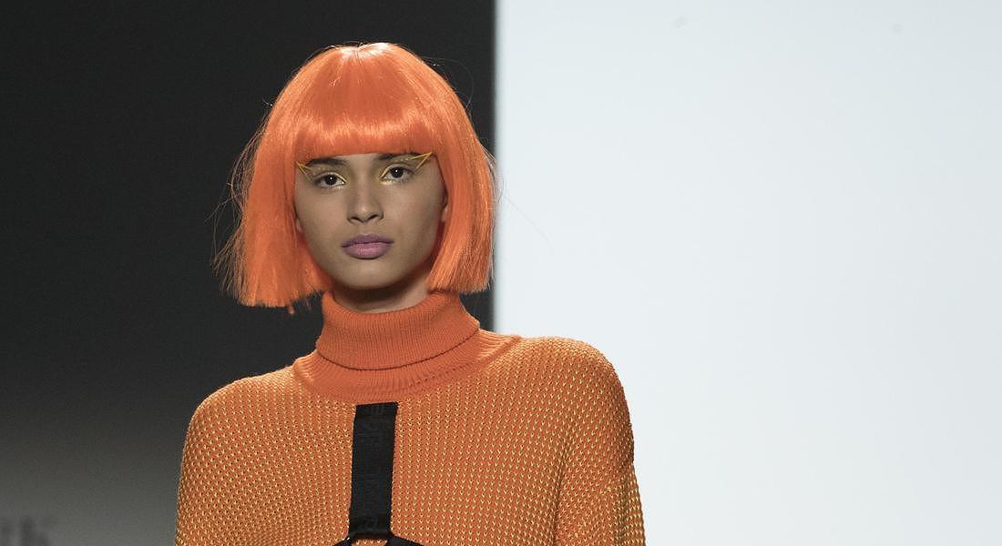 NY Fashion Week Jeremy Scott © AP