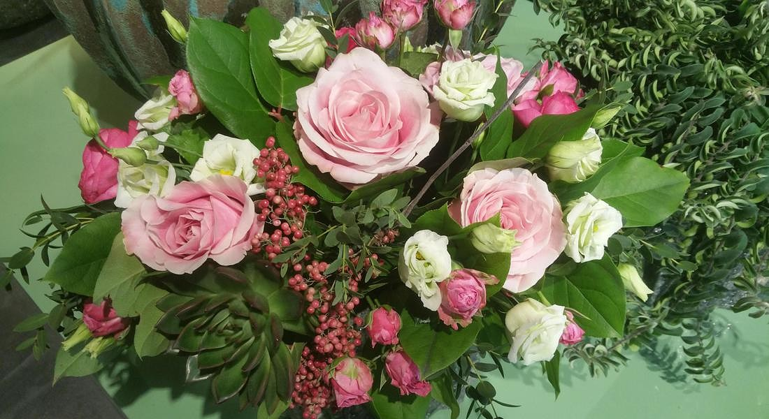 Maria Luisa Rocchi Flowers © ANSA