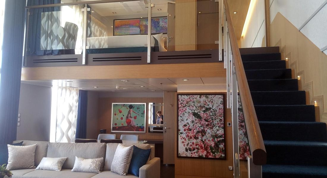 Royal Suite sulla Symphony of The Seas (Credit: Alessandra Magliaro) © ANSA