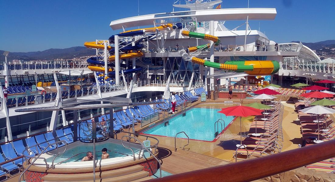 Zona acquatica , Symphony of The Seas (Credit: Alessandra Magliaro © ANSA