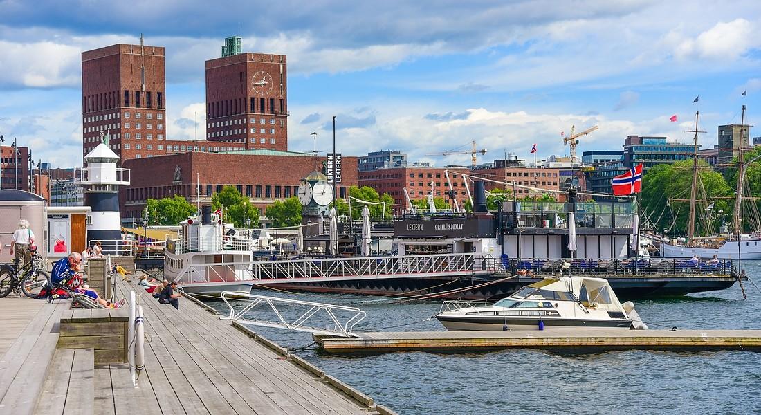Vista del Porto vecchio a Oslo foto primeimages iStock. © Ansa