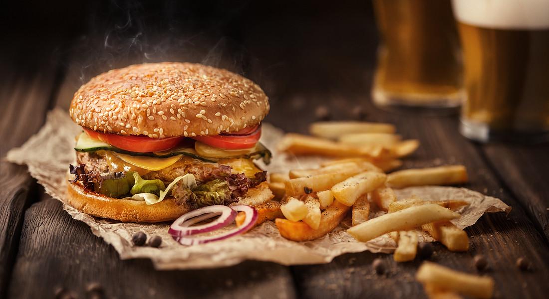 Hamburger © Ansa