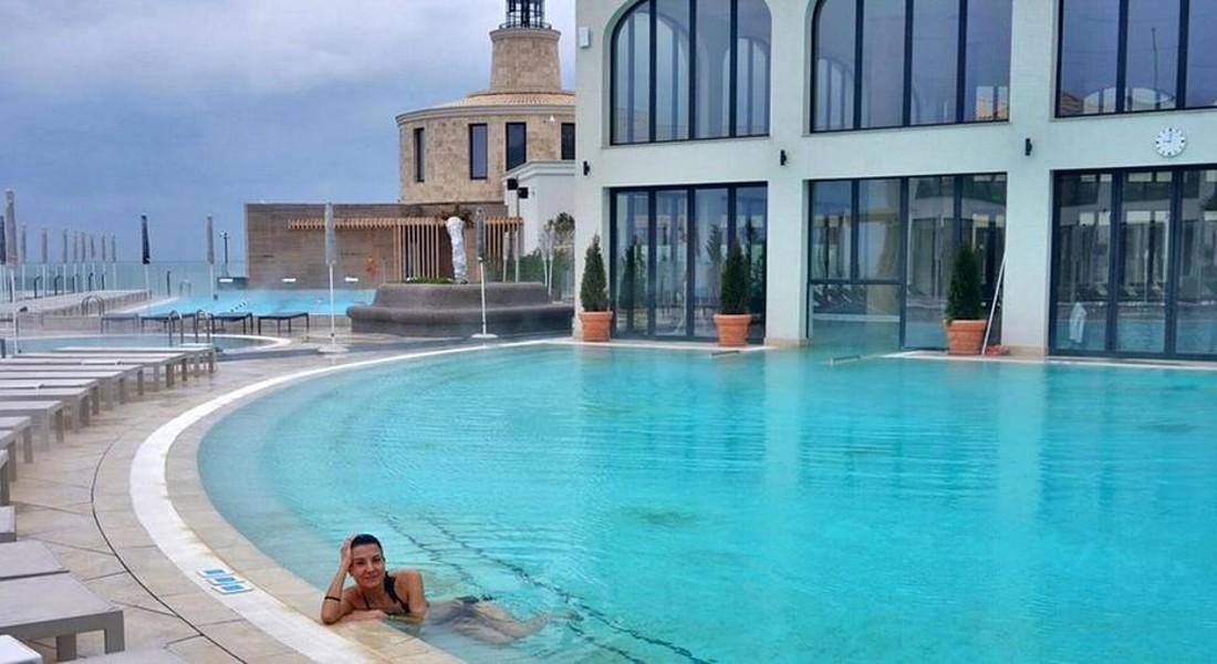 SPA WINNER 2018 SPA Aquahouse-Thermal-and-Beach, Blugaria, premiata ESPA 2018, categoria innovative spa complex © ANSA