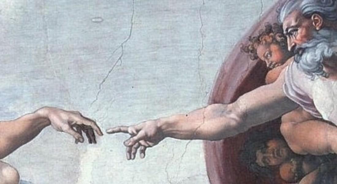 Dio visto da Michelangelo © Ansa