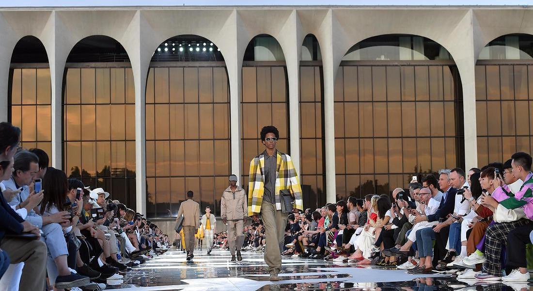 Milan Fashion Week Men's Sping/Summer 2019; Ermenegildo Zegna © ANSA