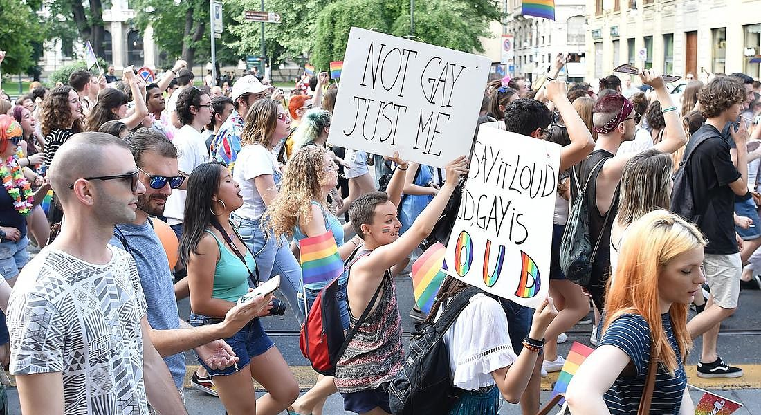 ''Torino Pride 2018'' © ANSA