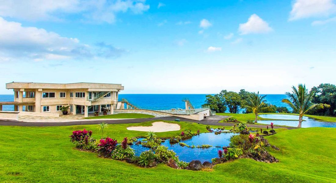 Nella lussuosa Waterfalling Estate ha soggiornato Justin Bieber - Hawaii, Stati Uniti (credit HomeAway) © Ansa