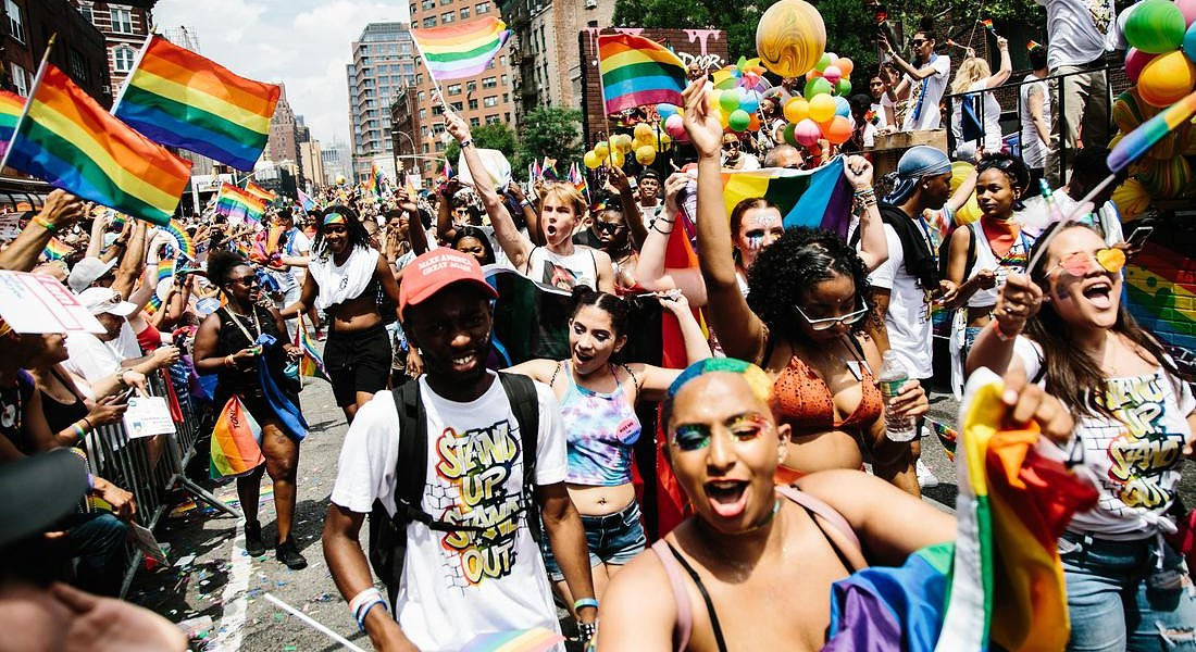 49th annual New York City Gay Pride Parade © EPA