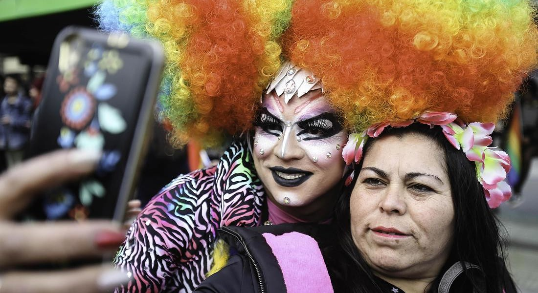 Gay pride parade in Chile