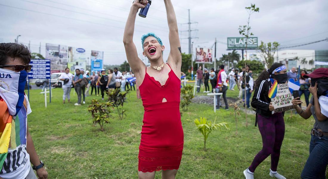 International LGBT Pride Day in Nicaragua © EPA