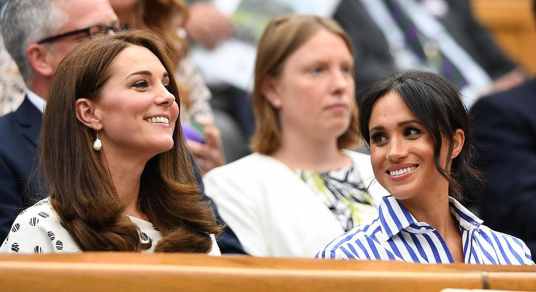 Catherine, Kate, duchessa di Cambridge e Meghan duchessa di Sussex © EPA