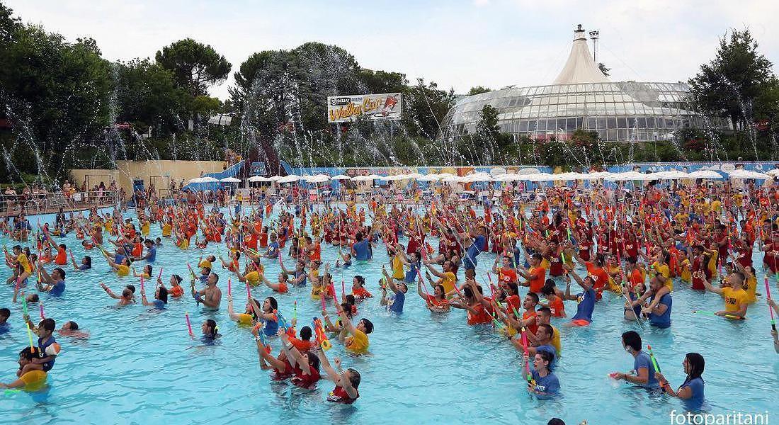 Water game da record all'Aquafan di Riccione © ANSA
