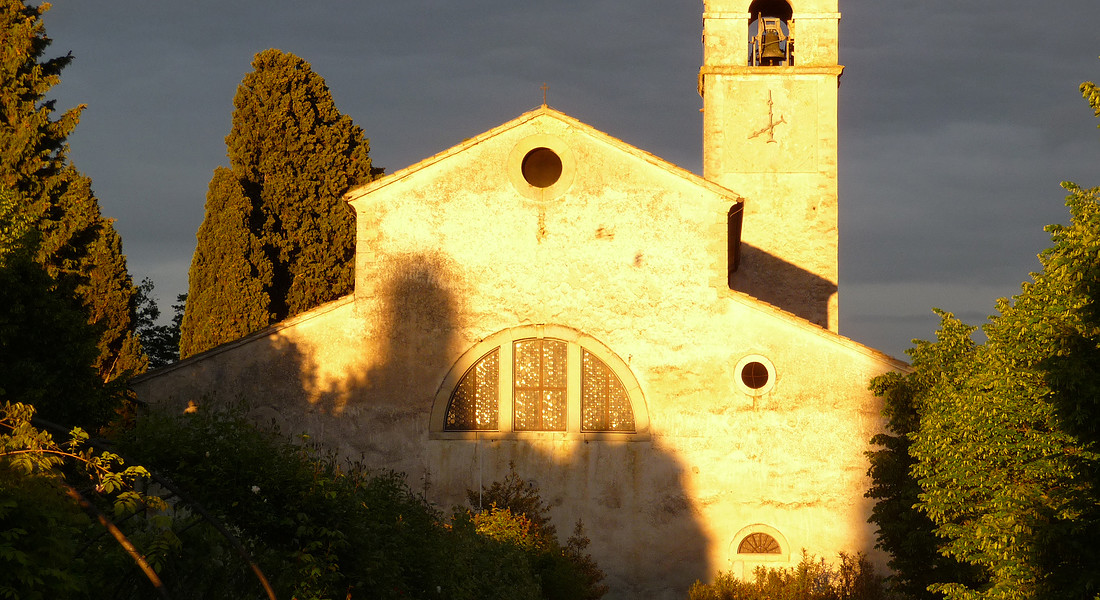 Eremo di San Giorgio a Bardolino (Verona), sul Garda © Ansa