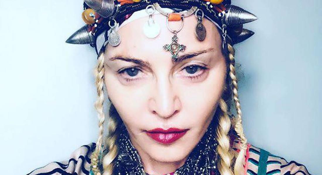 Madonna 60 anni foto senza ritocchi sul suo profilo Facebook e Instagram © Ansa