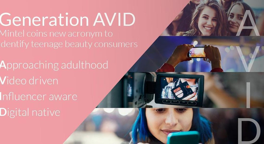 Mintel conia la definizione di AVID per gli adolescenti beauty addicted © ANSA