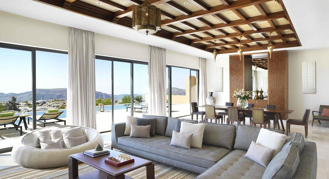 Anantara Al Jabal Al Akhdar Resort in Oman Royal Mountain Villa © ANSA