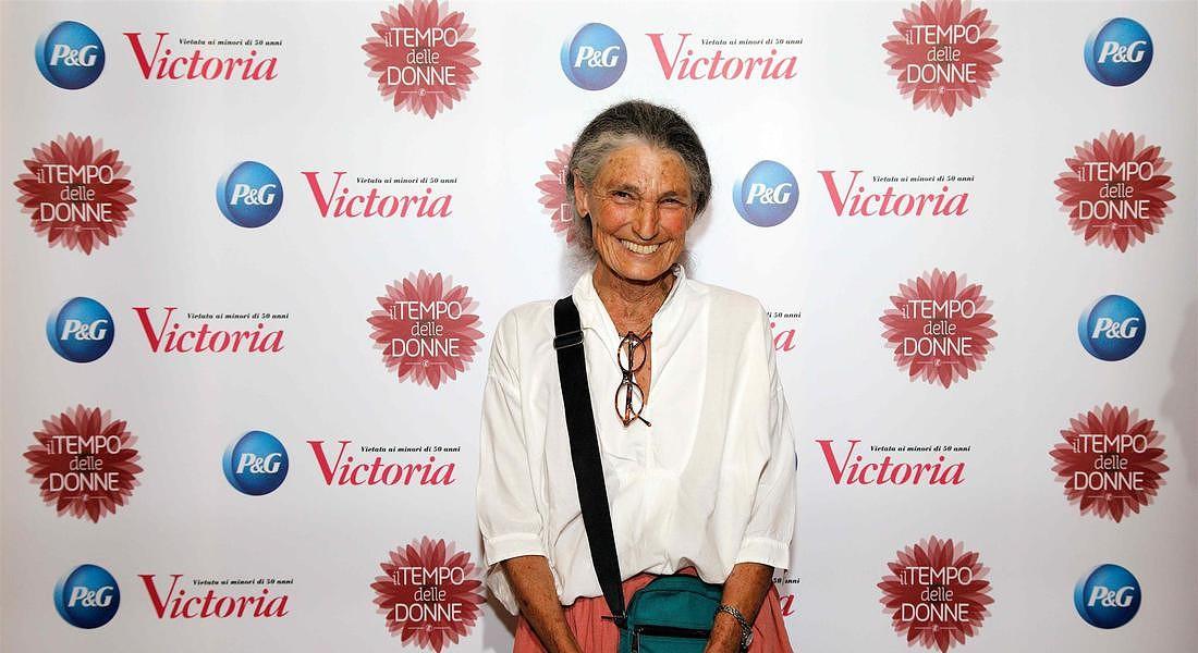 Benedetta Barzini riceve il premio Victoria © Ansa