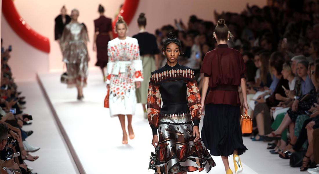 Milan fashion week: Fendi © ANSA