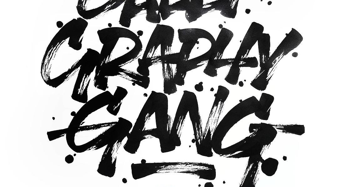 Calligraphy Gang by Claudio Mezzo © ANSA