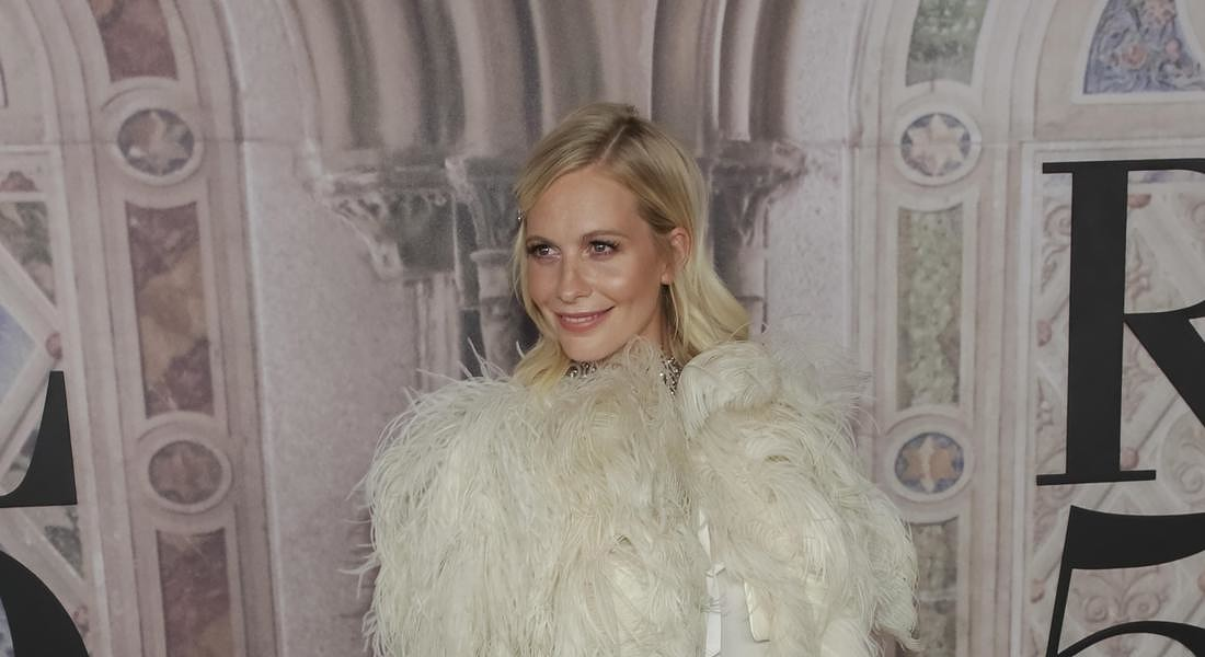 Poppy Delevingne all'evento a Central Park per i 50 anni del brand Usa Ralph Lauren © AP