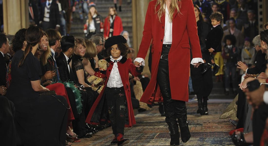 APTOPIX Fashion Ralph Lauren © AP