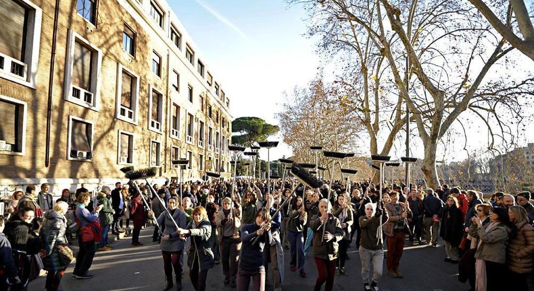 Capodanno: oltre 250 mila persone alla 'Festa di Roma' © ANSA