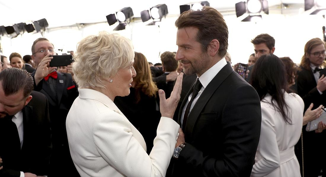 I conigli Glenn Close e Bradley Cooper © AP
