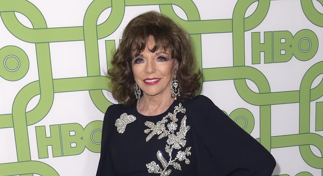 Joan Collins © AP