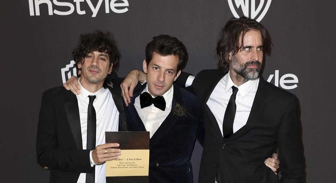 Anthony Rossomando,Mark Ronson,Andrew Wyatt © AP