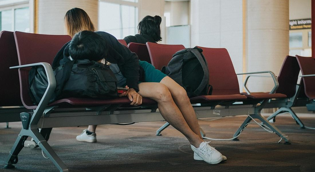 Nuove App contro il Jet Lag , boom Global wellness summit 2019 © ANSA