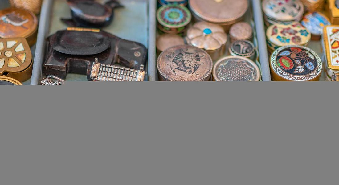 collection of vintage snuff box iStock-Francd_tobacco_Babbel © ANSA
