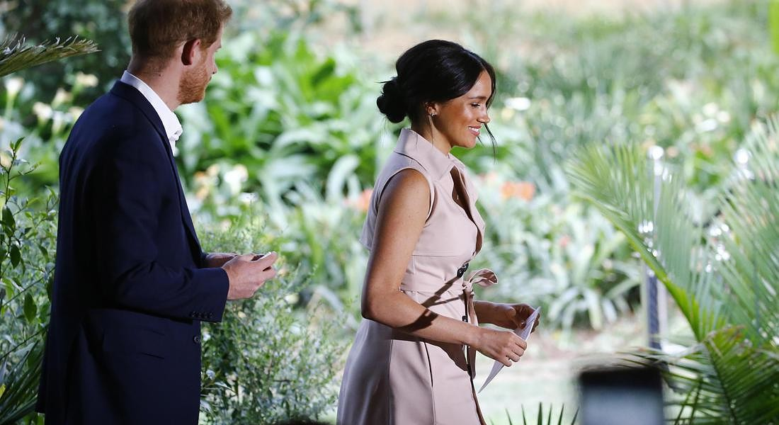 Duke and Duchess of Sussex Royal tour of South Africa © EPA