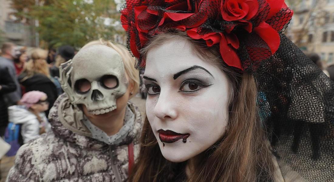 Halloween in Ukraine © EPA