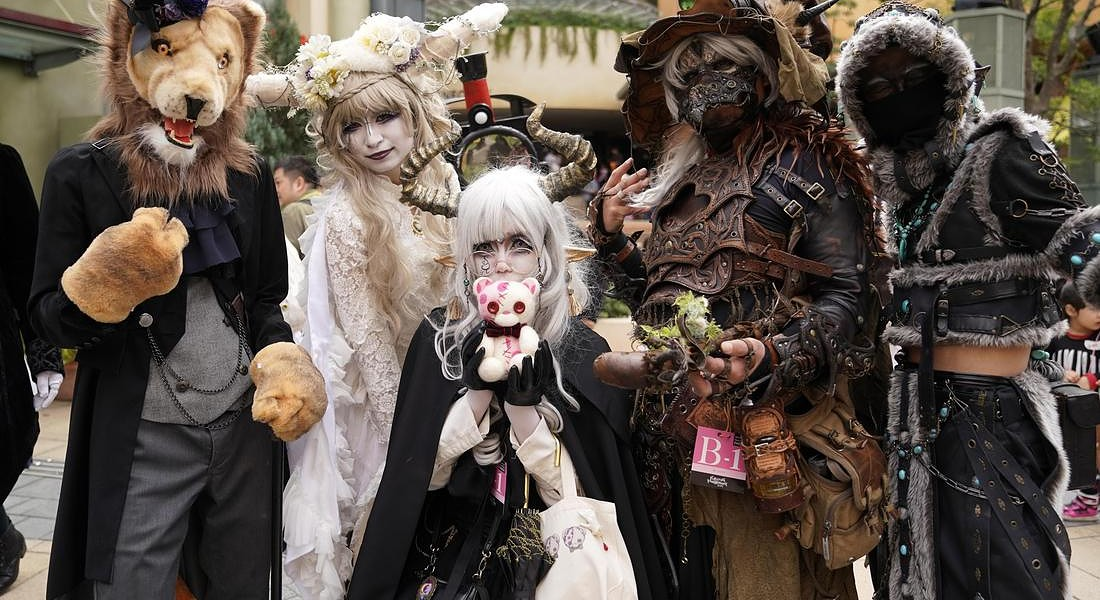 Halloween parade in Kawasaki city © EPA