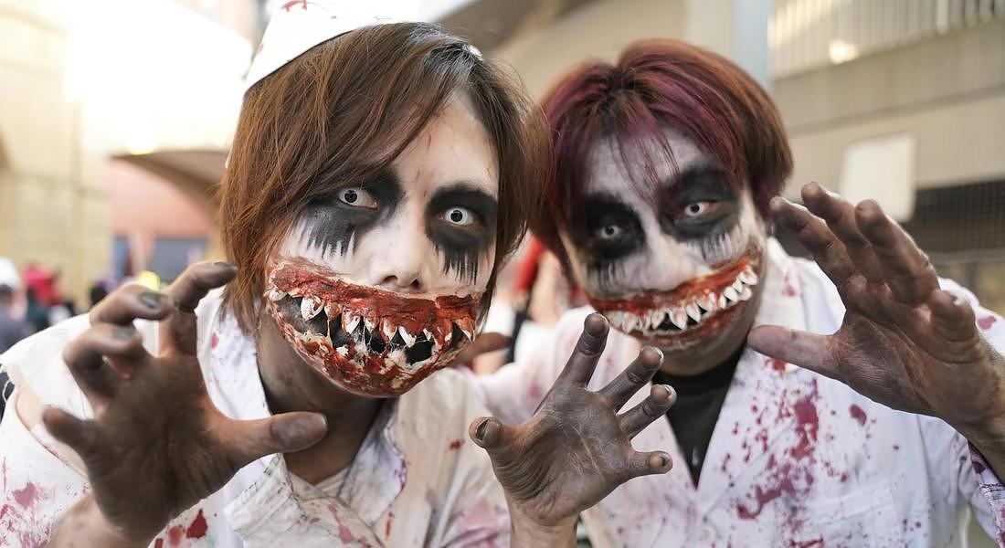 Halloween parade in Kawasaki city © EPA