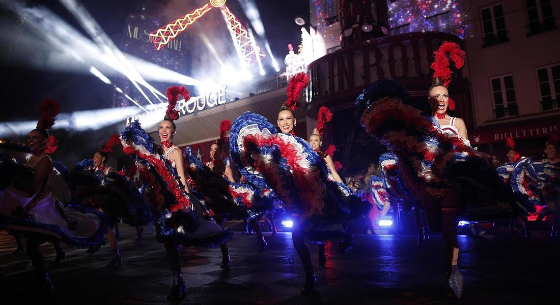Moulin Rouge 130th anniversary © EPA