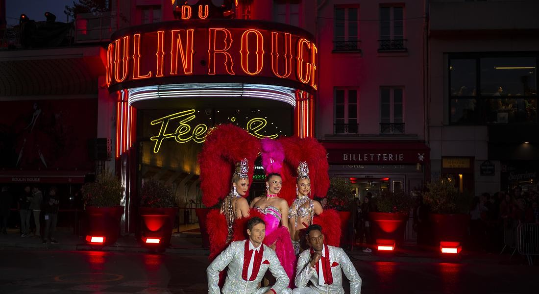 FRANCE MOULIN ROUGE ANNIVERSARY © AP