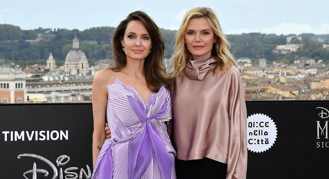 'Maleficent: Mistress of Evil' Photocall in Rome © ANSA