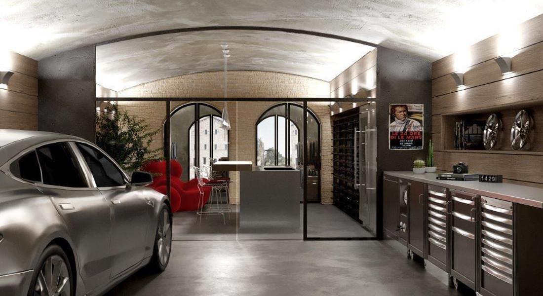 AD Dal Pozzo Design taverna © ANSA