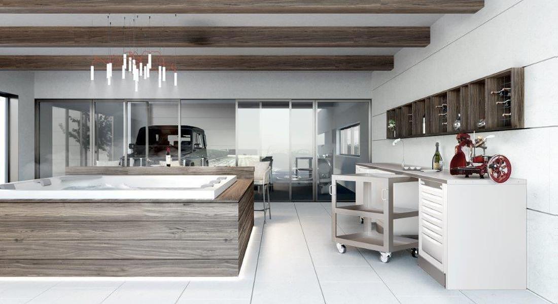 AD Dal Pozzo Design box relax room © ANSA