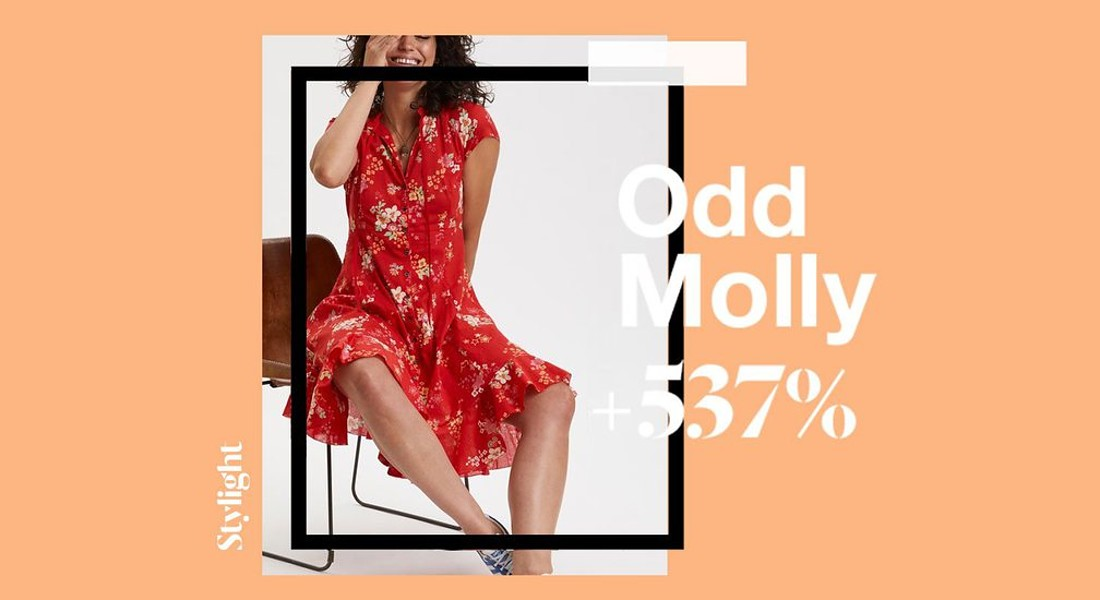Top sustainable brands 2019 : Odd Molly (@Stylight) © Ansa