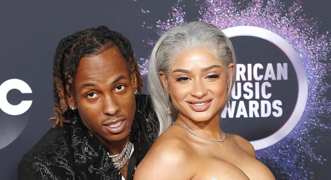 Arrivals - 2019 American Music Awards US rapper Rich The Kid e Antonette Willis © EPA